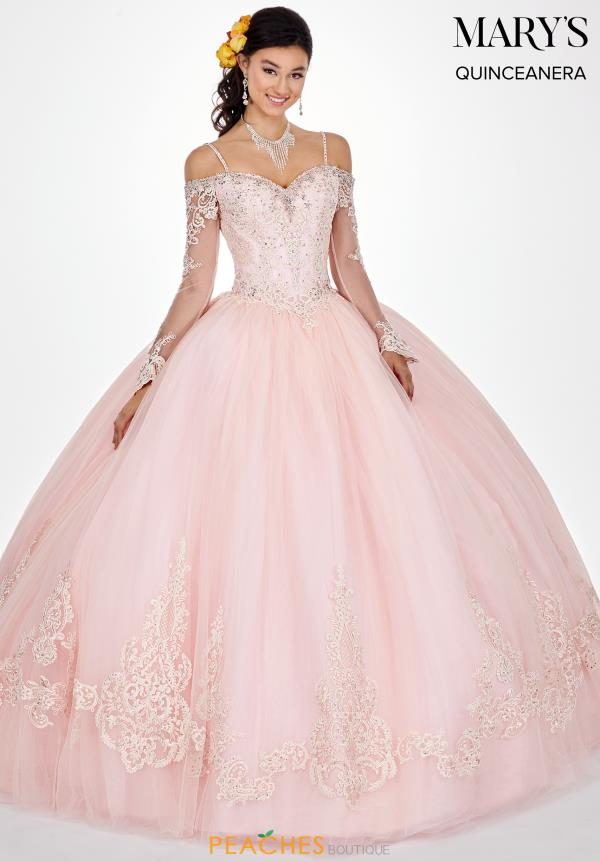 Mary's Sleeved Ball Gown MQ2060