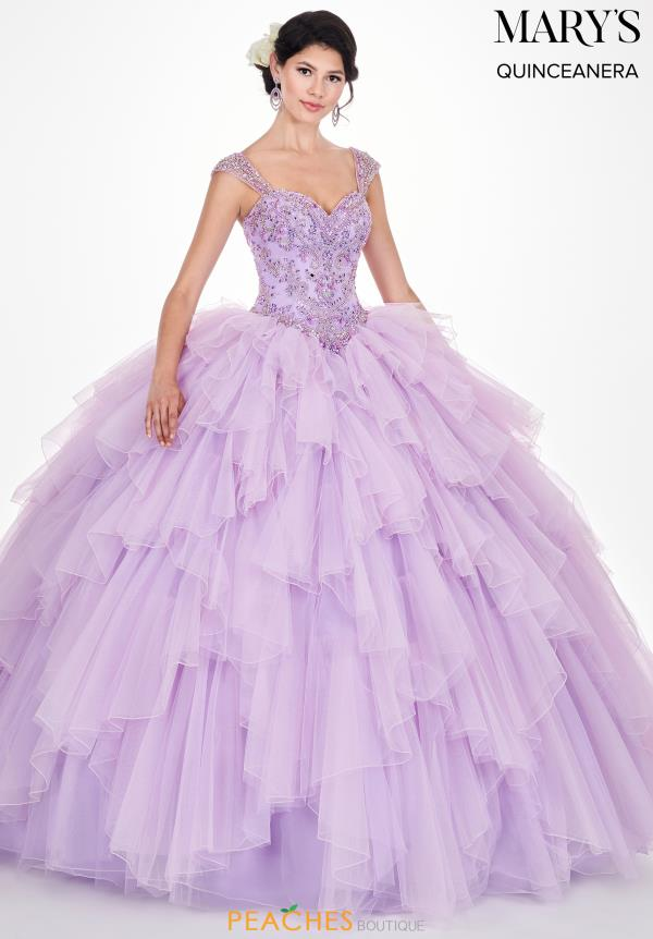 Mary's Lace Ball Gown MQ2061