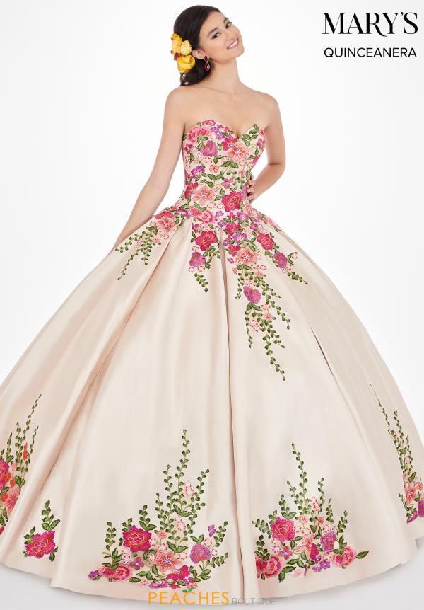 Mary's Long Floral Dress MQ2066