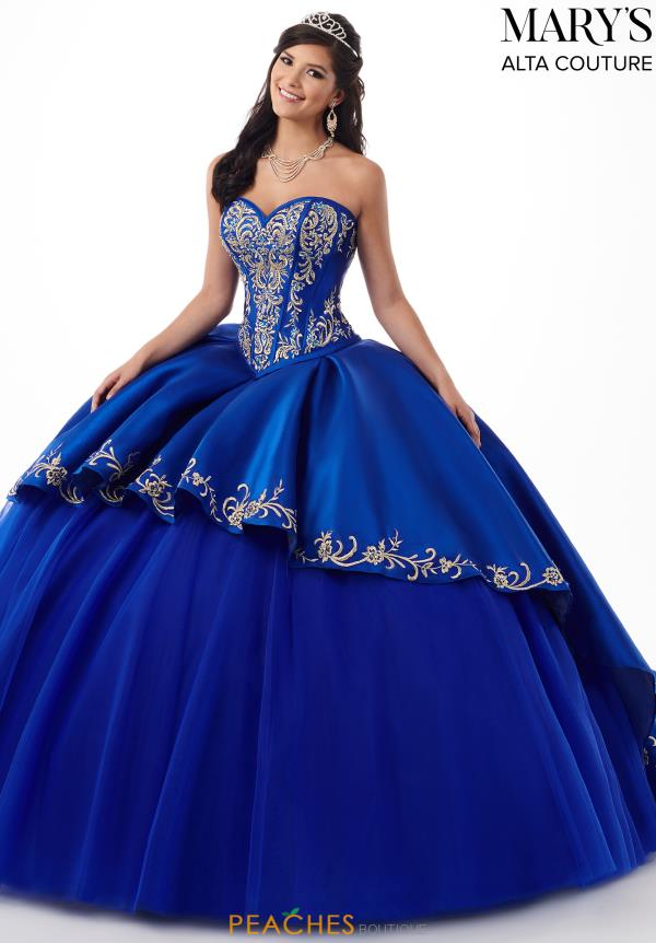 Mary's Strapless Ball Gown MQ3020