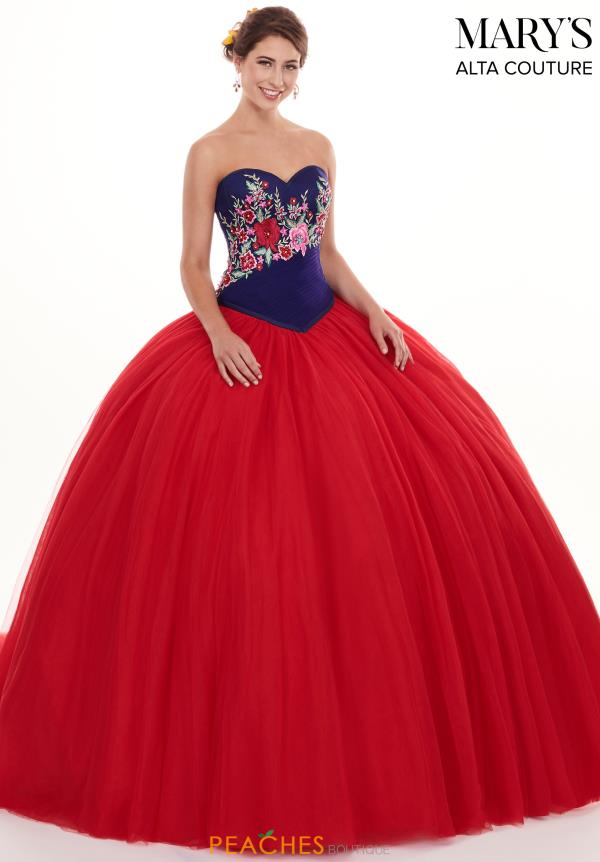 Mary's Strapless Ball Gown MQ3023