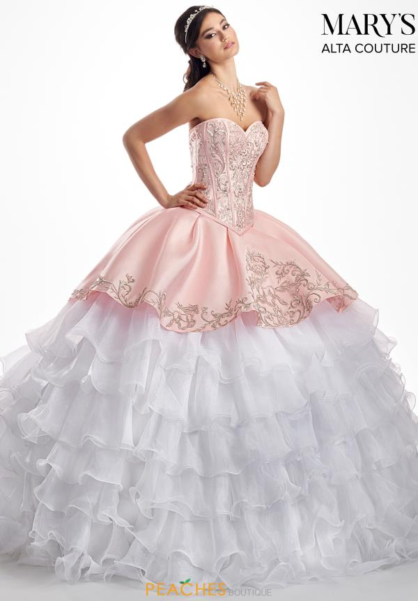 Mary's Strapless Ball Gown MQ3026
