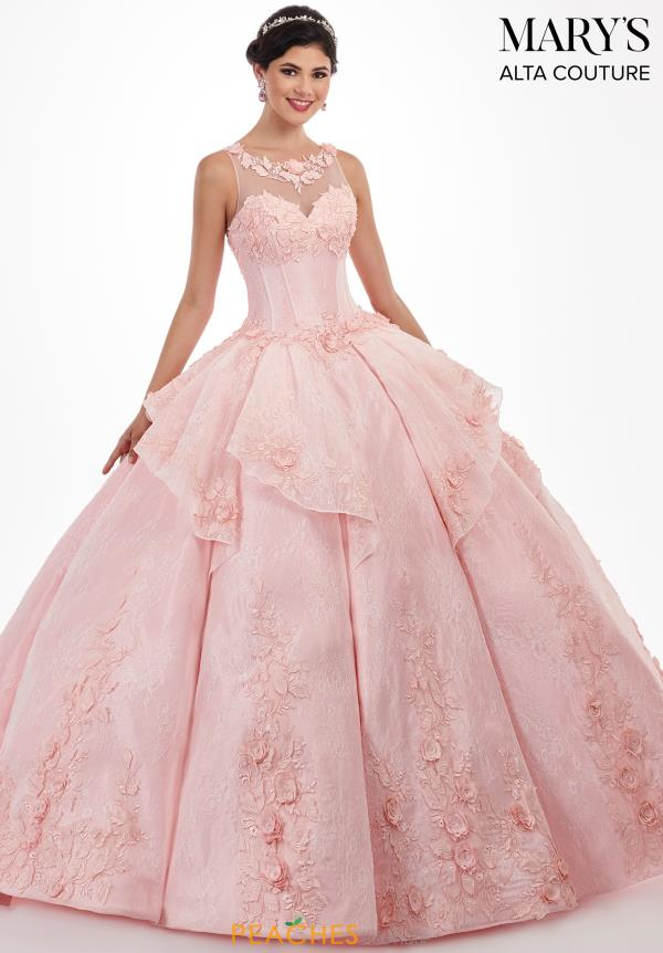 Mary's High Neckline Ball Gown MQ3029