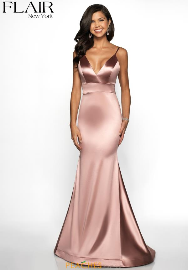 bdfbbc60 Flair Long Fitted Dress 19142