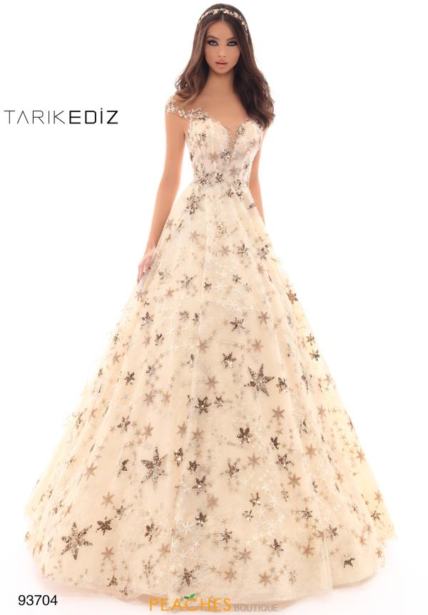 Tarik Ediz Long A Line Dress 93704