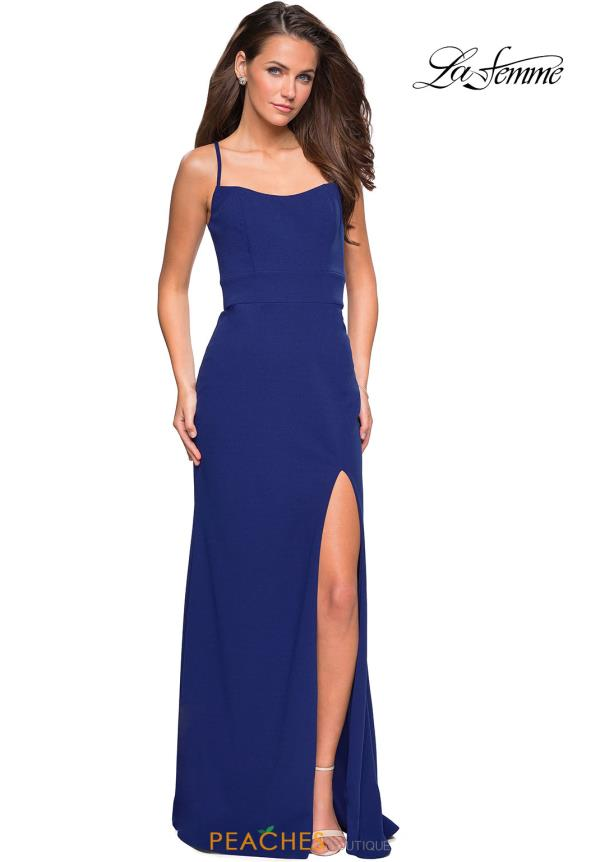 0cd7f3a71f83 La Femme Dress 26940   PeachesBoutique.com