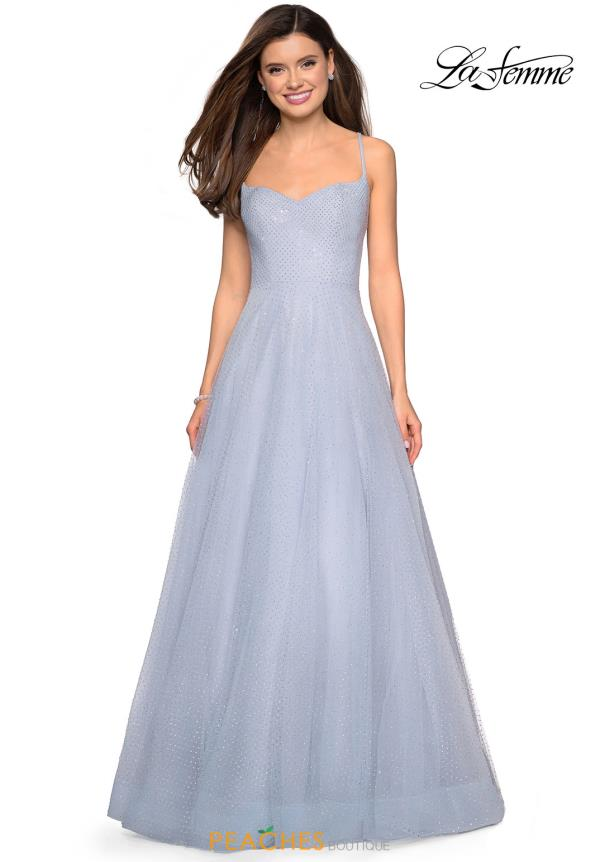 La Femme Sweetheart Beaded Dress 27608