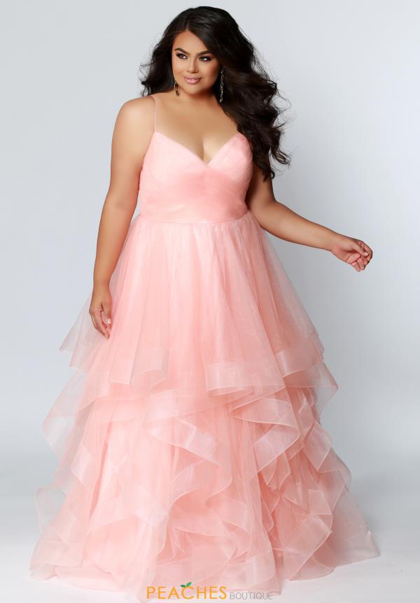 e97bd8b1c3f Sydneys Closet Tulle Skirt A Line Dress SC7268