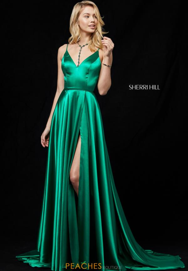 Sherri Hill Long A Line Dress 52119