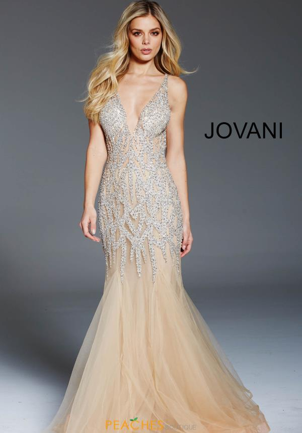 Jovani Beaded Mermaid Dress 59717