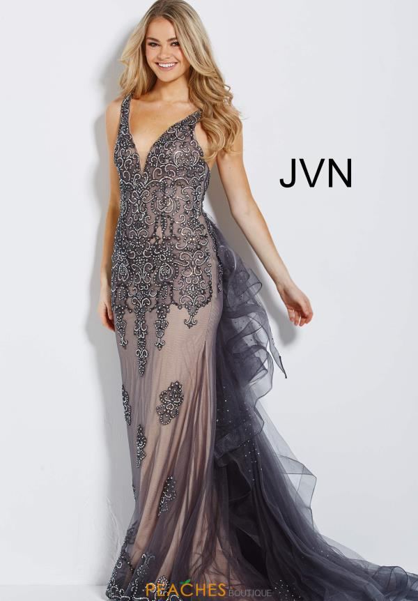 JVN by Jovani Long Beaded Dress JVN53188