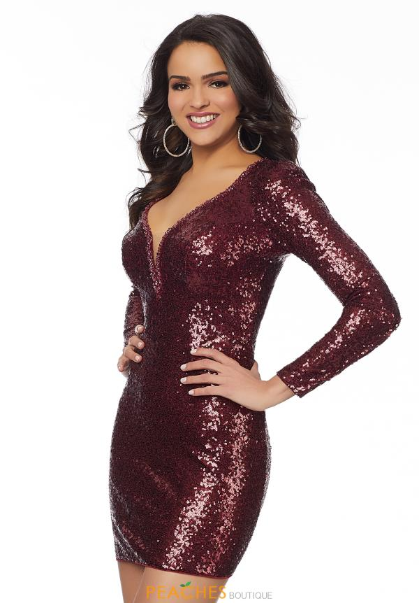 Mori Lee Sticks & Stones Short Sequins Dress 33077