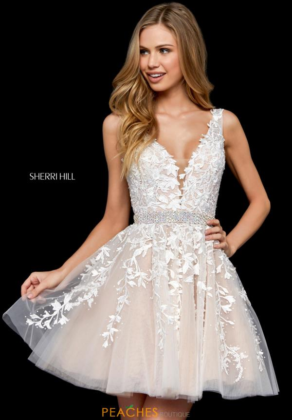 Aline Short Sherri Hill Dress 52157