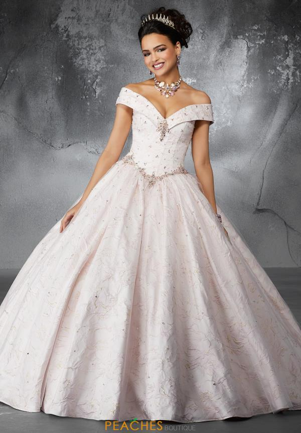Valencia Quinceanera Cap Sleeved Ball Gown 60051