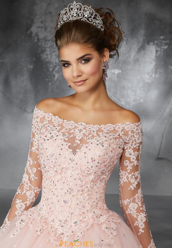 Valencia Quinceanera Off the Shoulder Lace Gown 60052