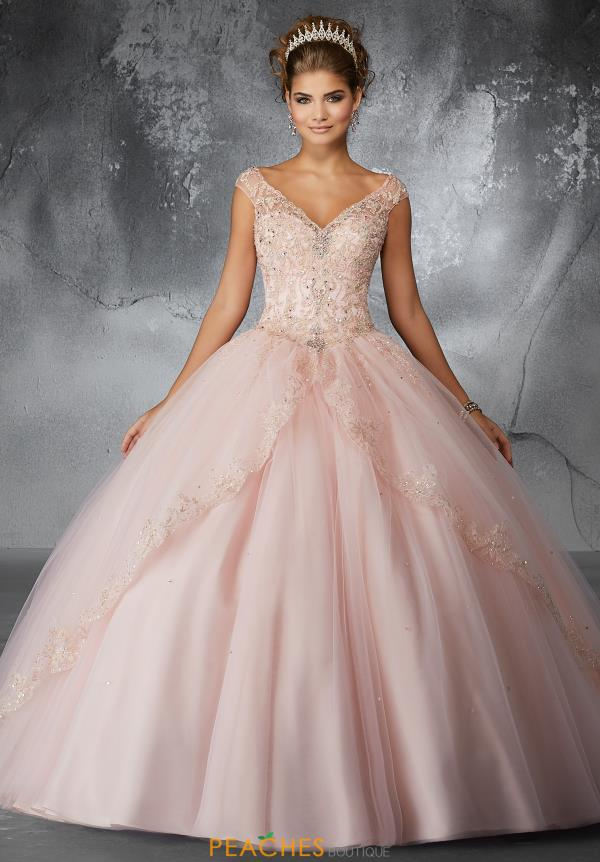 Valencia Quinceanera Tulle Skirt Ball Gown 60054