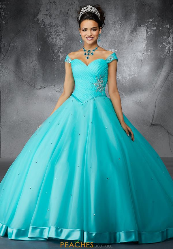 Valencia Quinceanera Sweetheart Neckline Ball Gown 60057