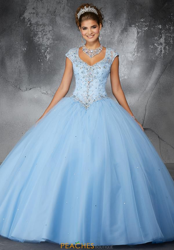 Valencia Quinceanera Beaded Ball Gown 60060
