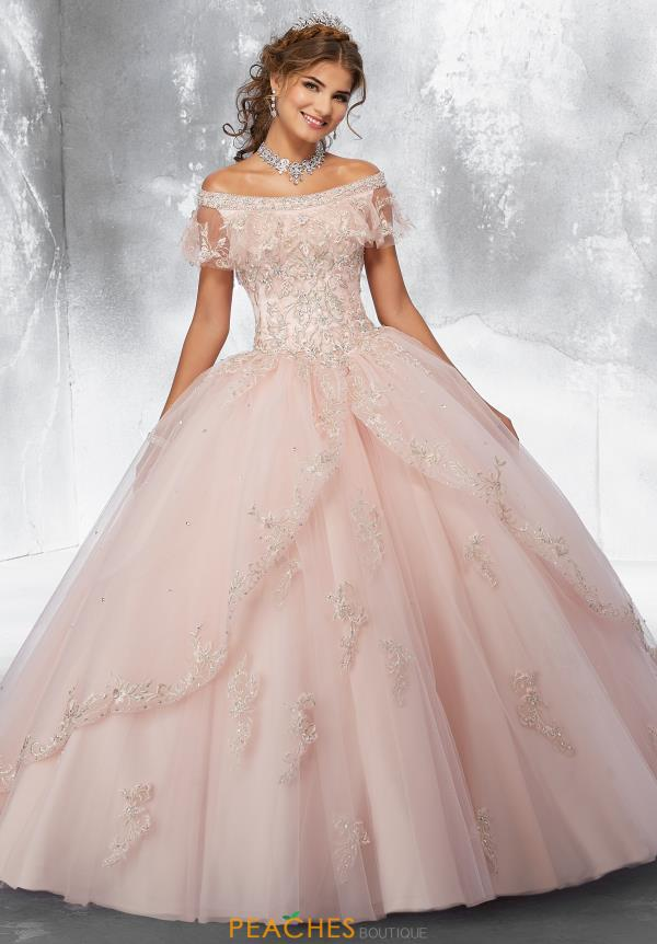 Vizcaya Quinceanera Off the Shoulders Ball Gown Gown 89181