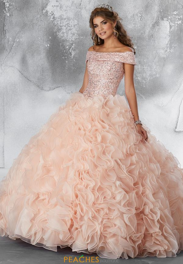 Vizcaya Quinceanera Beaded Ball Gown 89182