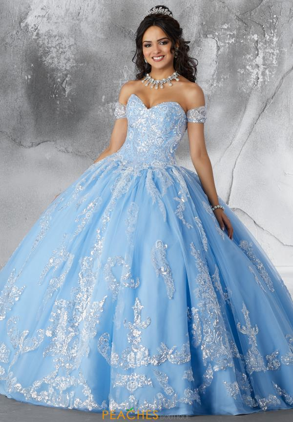 Vizcaya Quinceanera Tulle Skirt Ball Gown 89186