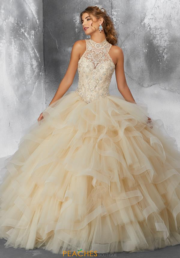 Vizcaya Quinceanera Beaded Ball Gown 89187