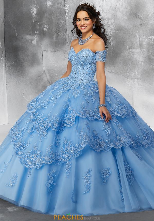 Vizcaya Quinceanera Lace Ball Gown 89190