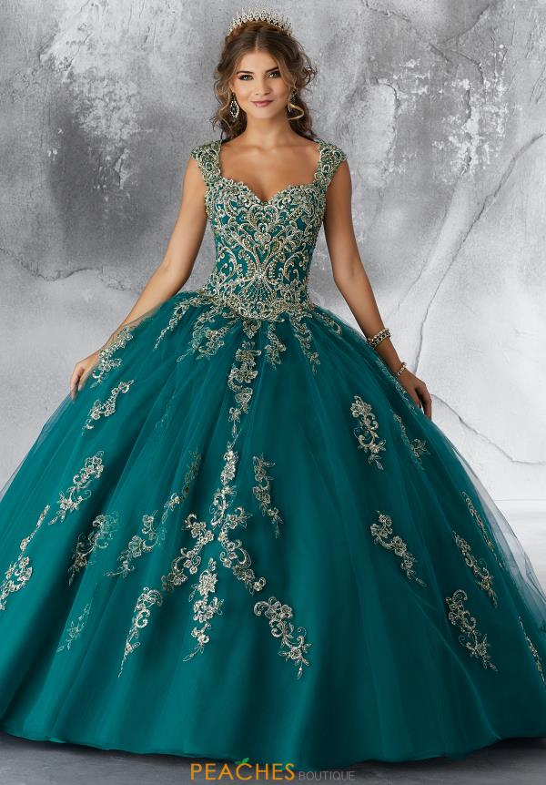 Vizcaya Quinceanera Beaded Ball Gown 89196