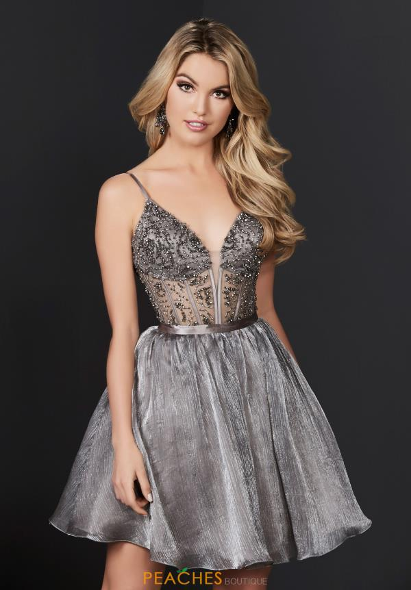 Mesmerizing Tiffany Corset Short Dress 27229