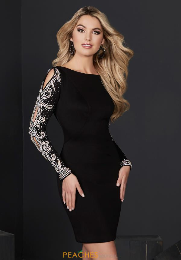 Captivating Tiffany Long Sleeve Dress 27238