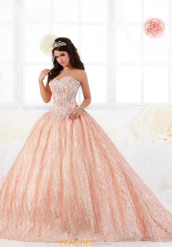 Tiffany Quinceanera Strapless Ball Gown 26896