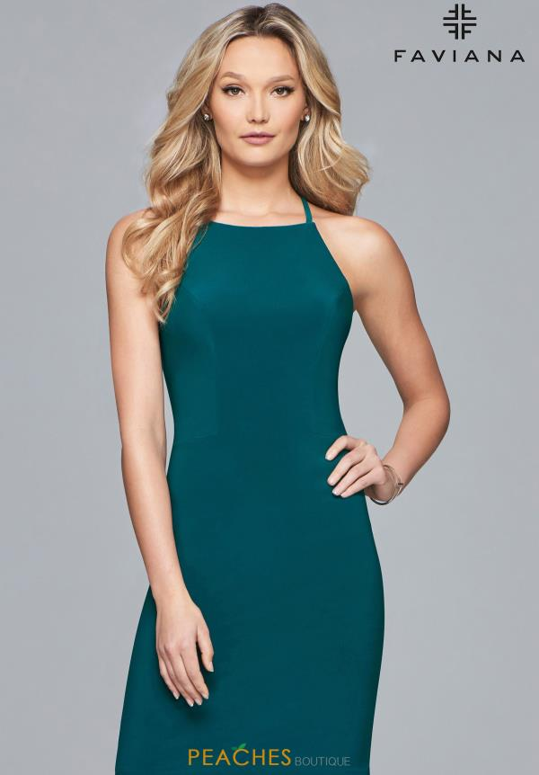 Faviana Short Fitted Dress S10166