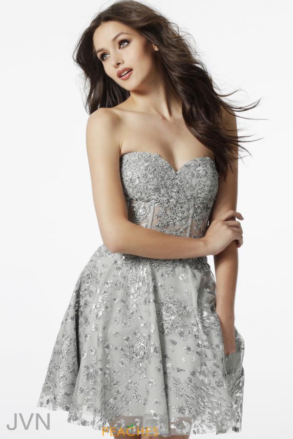 Short Strapless Corset Dresses
