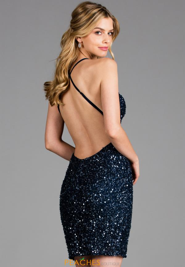 Scala Beaded Short Dress 48782