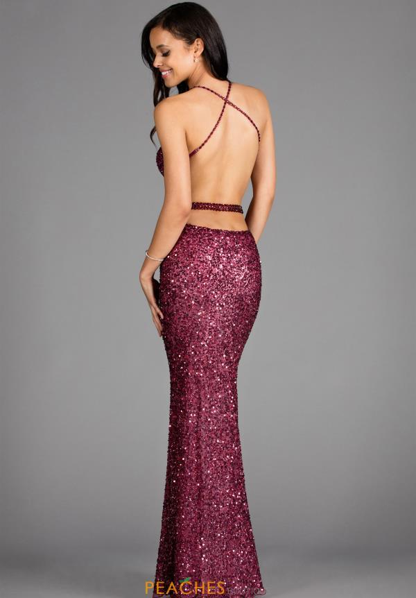 Scala Prom Dress 48389 | PeachesBoutique.com