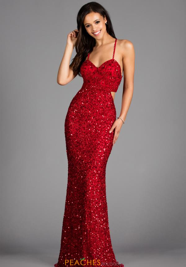 d7e2f589c1846 Scala Prom Dress 48912 | PeachesBoutique.com