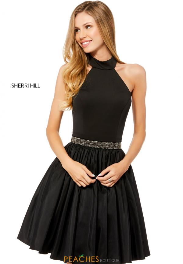 Sherri Hill Short A Line Dress 52064