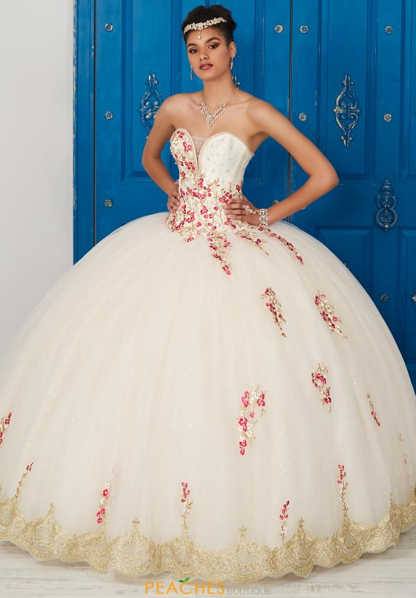 Strapless Tiffany Quince Dress 24032