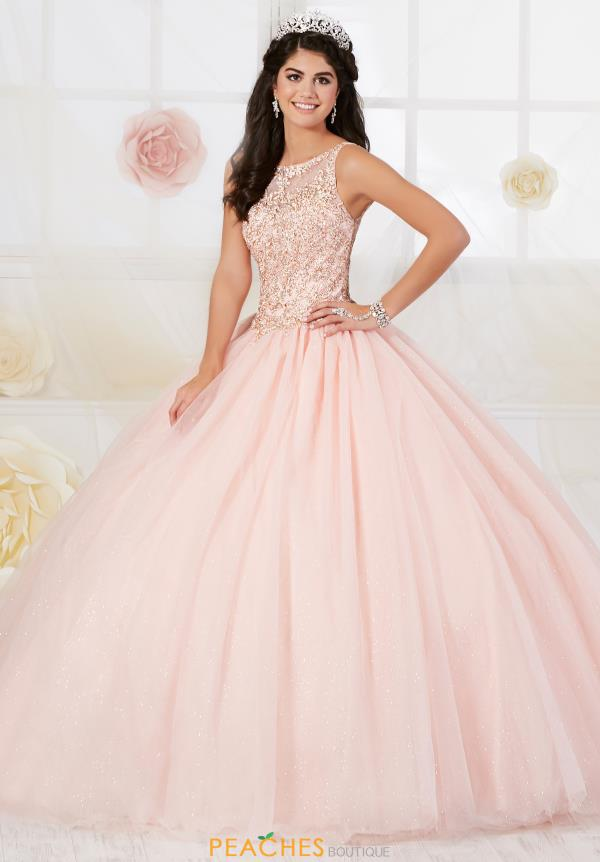 Tiffany Quinceanera Beaded Ball Gown 56358
