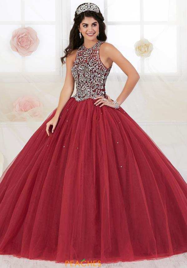 Tiffany Quince Beaded Ball Gown 56361