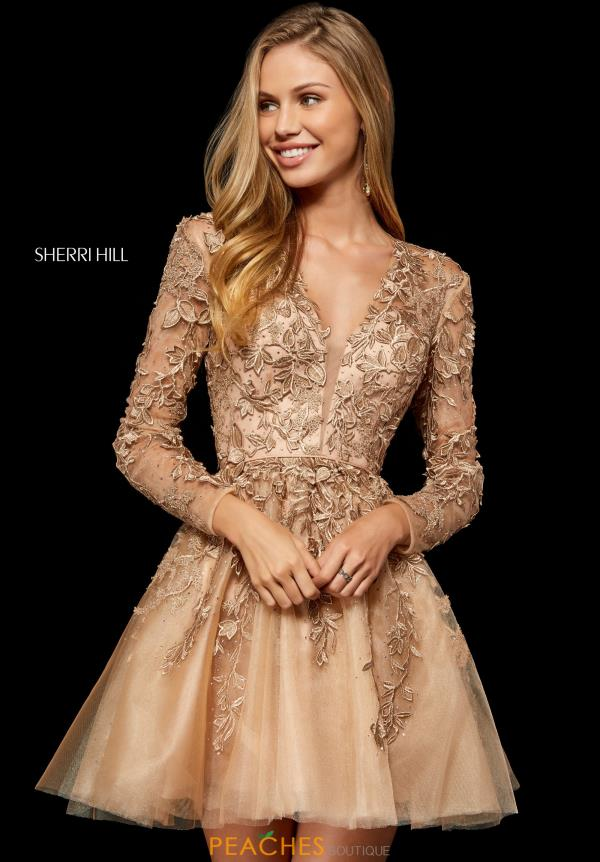Sherri Hill Short Dress 52343 Peachesboutique