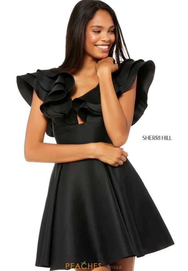 Sherri Hill Short Dress 52360 Peachesboutique