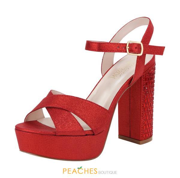 Platform Heel by Blossom Footwear