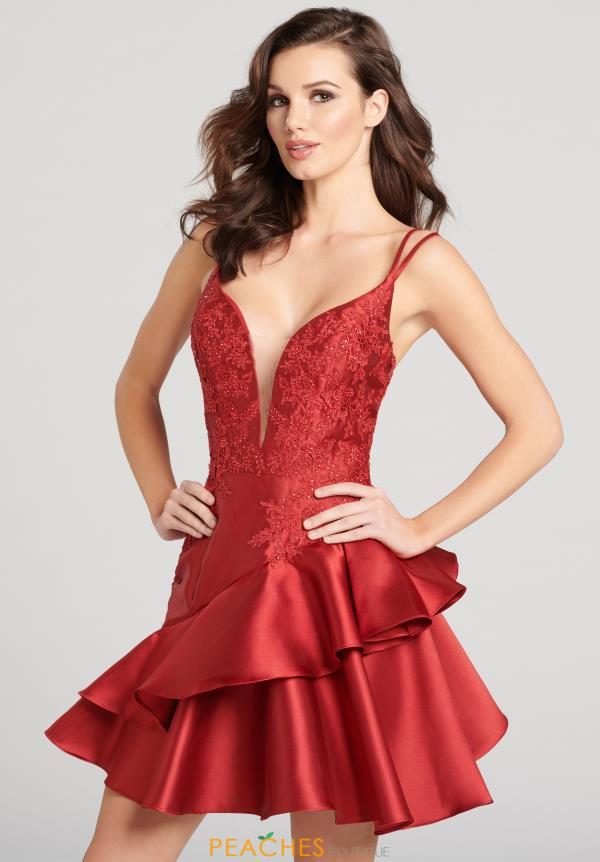 Elegant Ellie Wilde Homecoming Dress EW21866S from Ellie Wilde