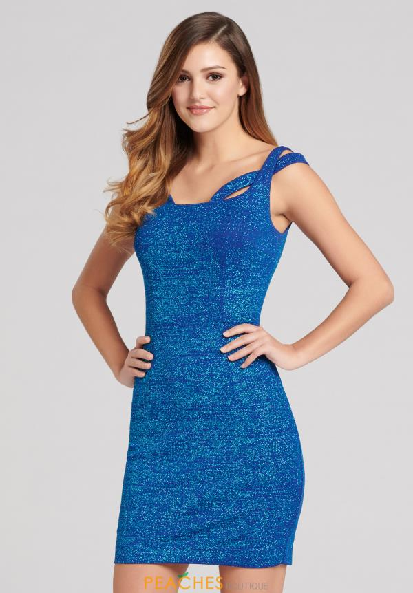 Gleaming Ellie Wilde Fitted Dress EW21803S