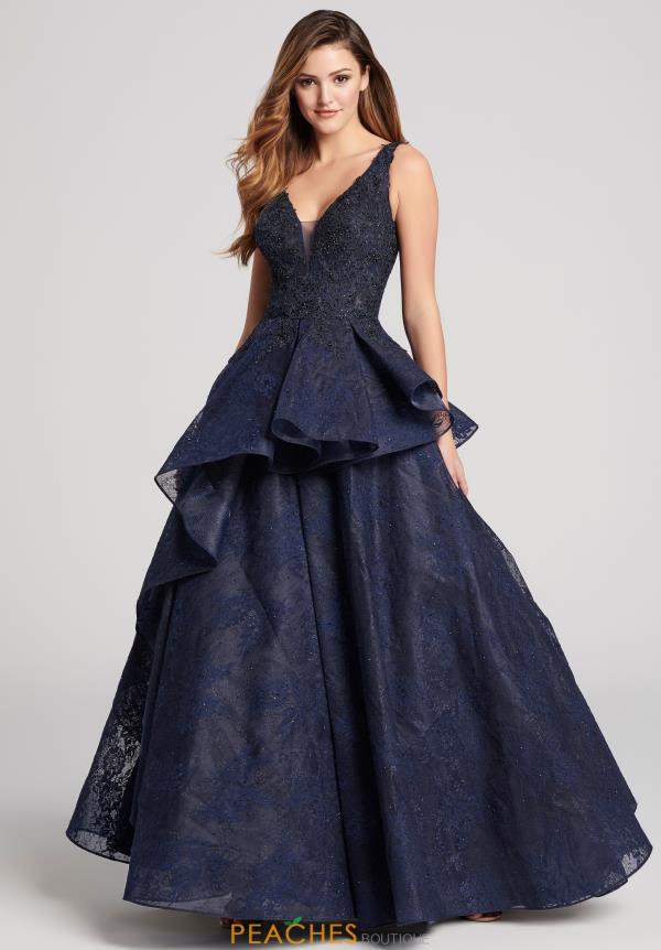 Enthralling Ellie Wilde Lace Gown EW21861