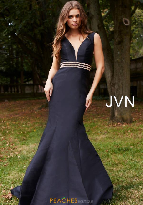 JVN by Jovani Long Fitted Dress JVN59891