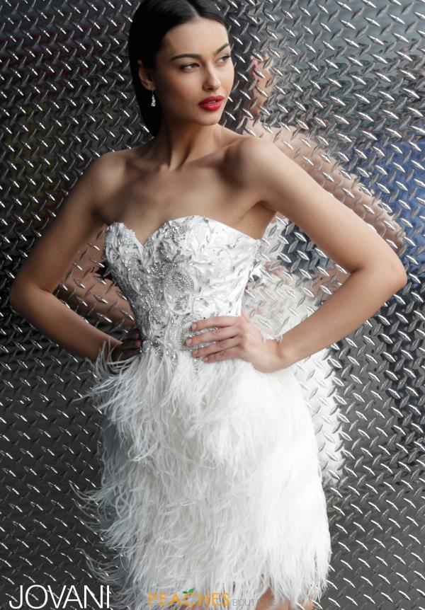 52f80b18a Jovani Short Dress 50122 | PeachesBoutique.com