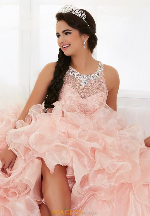 Tiffany Beaded Organza Quinceanera Dress 26813