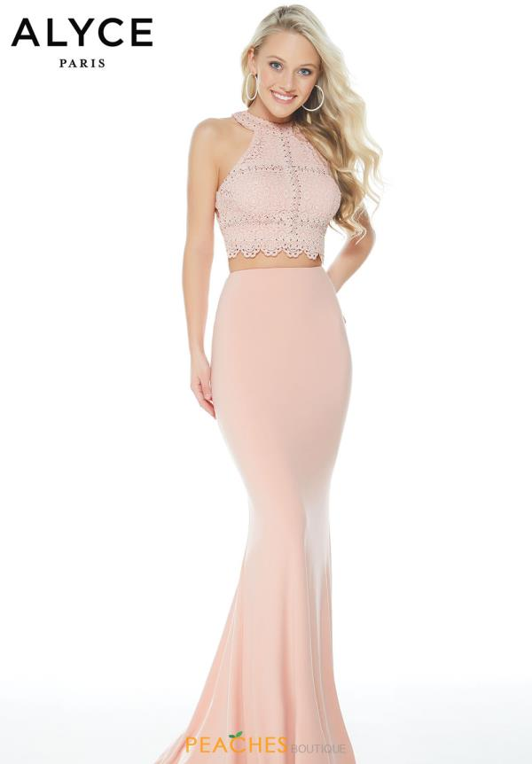Alyce Paris Two Piece Fitted Dress 60248